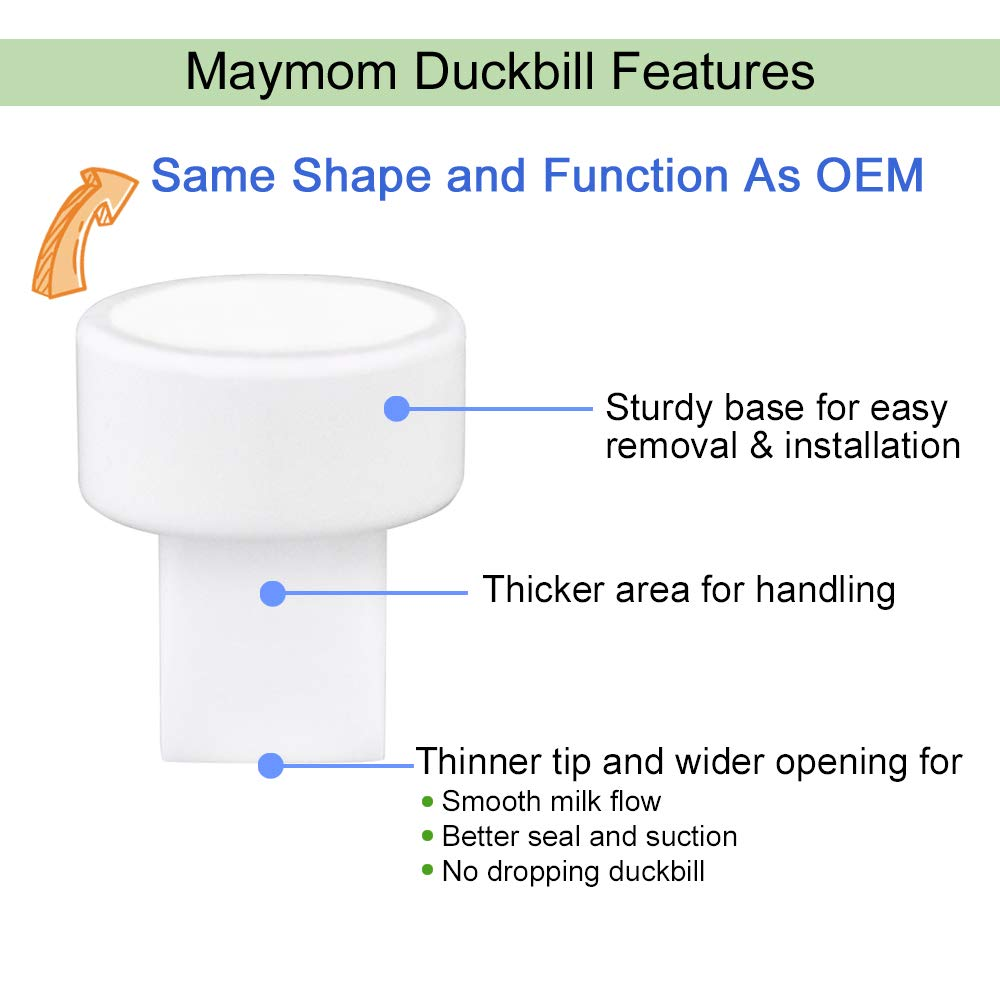 Maymom Backflow Protector Compatible with Spectra S2 S1 and 9 Plus...