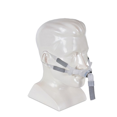ResMed Swift™ FX Bella Gray Nasal CPAP Pillow System and Headgear