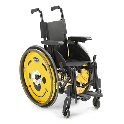 Invacare MyOn Jr. Wheelchair - Growable Frame