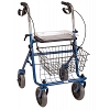 Briggs Healthcare DMI Traditional Steel Rollator Walker with Padded Seat