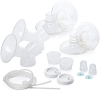 Evenflo Feeding Replacement Parts Breastfeeding Kit for Hospital Strength Advanced Double Electric Breast Pump
