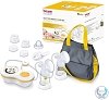 Beurer Electric Dual Breast Pump, Double Comfortable Pumping, Portable Strong Suction and Tote Travel Bag for Moms, BY70