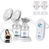 Bellababy Pocket Double Electric Breast Pump Come with Hanging Lanyard Storage Bags and Adpaters Bottle Thread Changers