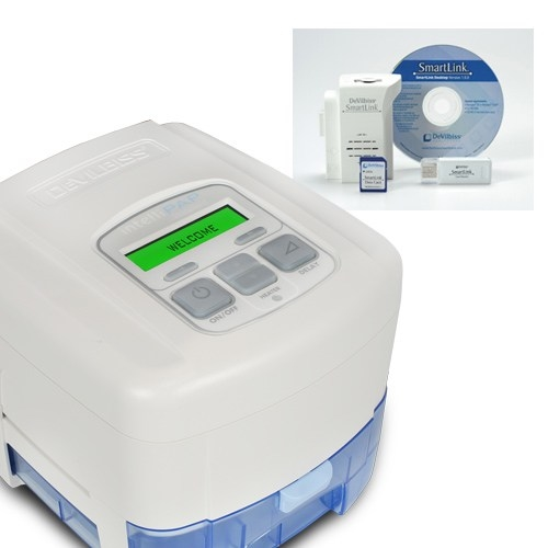 DeVilbiss IntelliPAP Auto CPAP with SmartFlex, Humidifier, and Software