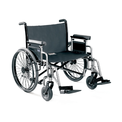 Invacare 9000 Topaz Wheelchair Strength, durability and comfort for bariatric users.