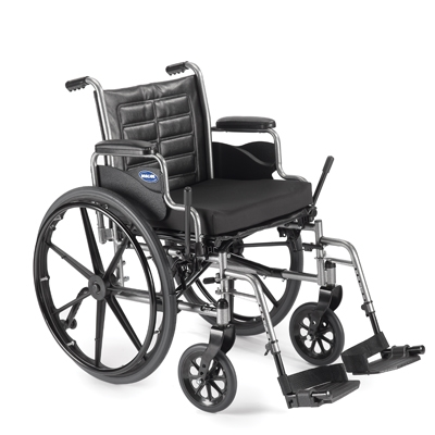 Invacare Tracer EX2 Wheelchair with Removable Desk-Length Arms, 16