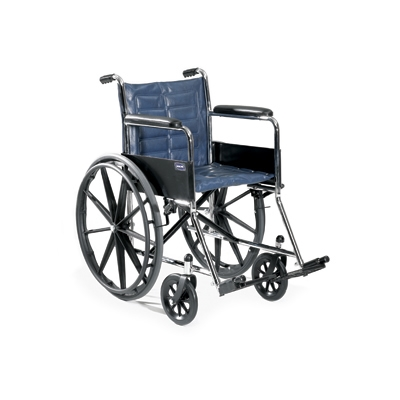 Invacare Tracer EX2 Wheelchair Dual-axle allows for repositioning for hemi seat-to-floor heights.