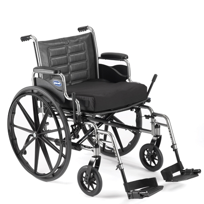 Invacare Tracer IV Heavy-Duty Wheelchair, Desk-Length Arms, 22