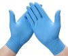 Innovative Nitriderm Ultra Blue Nitrile Synthetic Powder-Free Non-Sterile Exam Gloves, Medi 157200