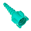 Christmas Tree Adapter Oxygen Nipple and Nut