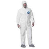 Disposable Zip Closure Coverall Protection Suit Large